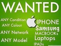WANTED) IPHONE 8 8 PLUS 64GB/256GB IPHONE 7 PLUS SAMSUNG GALAXY S8+S8/NOTE 8 MACBOOK PRO IPAD