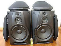 A pair of SONY Speakers SS-H991 and pair of SS-SR991 speakers