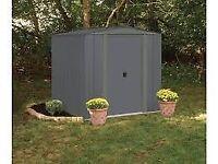 Arrow Metal Garden Shed - 6 X 7ft - Brand New (No Box)