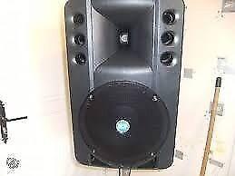 RCF ART300 PA speaker amazing sound
