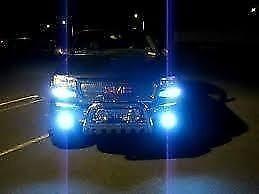 9006 9005 Hi/Lo Beam Blue Headlights Replace Sylvania Silverstar Ultra PlugNPlay