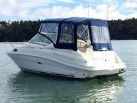 Sea Ray 240 Sundancer with trailer