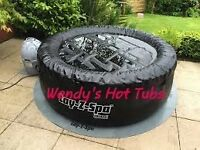 Wendys HOT TUB HIRE From £50 *inc gazebo/speakers/disco lights