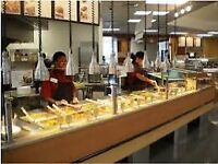 Kitchen assistant is needed for a sushi bar in Waitrose