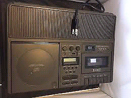 Vintage cd/cassette deck All in One!!