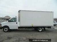 17 feet truck and driver for rent for moving delivery and dump