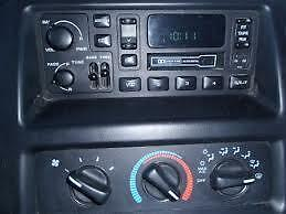 heater control Dodge ram 2001