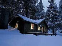 Looking for a Remote Cabin/Cottage to Rent for New Years