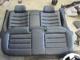 Audi S4 and A4 rear seats $100