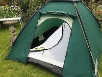 GREAT, EUROHIKE 225 TS DOME TENT - 2 MAN - GREEN - CAMP CAMPING