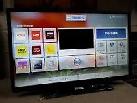 "40"" TOSHIBA SMART LED WIFI TV FULL HD USB FREEVIEW CAN DELIVER"