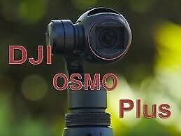 DJI Zenuse X3 Osmo+ 4K model HAS ZOOM ie Camera and Gimbal INCL WIDE ANGLE LENS as new,