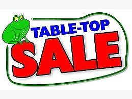 CHARITY TABLE TOP SALE ON SATURDAY 6TH OCTOBER AT EFAIL ISAF VILLAGE HALL - 9.30 - NOON