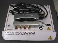Behringer u-control uca202 audio interface