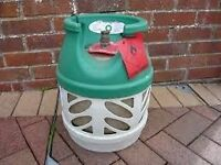 EMPTY BP Gaslight 5kg Propane gas bottle/cylinder - with REGULATOR *BBQ,Camping,Caravan,camper