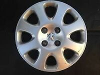 Peugeot 15 inch wheel trim - x3 available