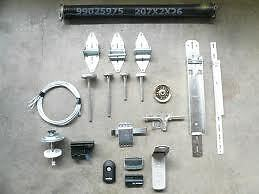 Garage Door Parts  - Panels , Springs , Track,  Hinges , Etc