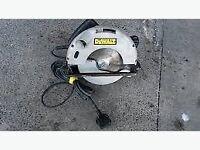 Dewalt 240v Circular saw for spares or repair