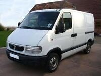 van and man for hire in glossop