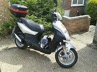 Sym symply 50cc 2010 scooter moped like new 10 months mot