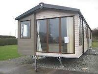 Pre owned Static caravan at Weymouth Bay holiday park Dorset
