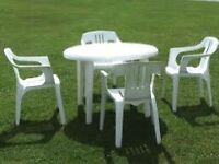 Wanted garden furniture