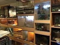 Wanted Vivariums and Accessories