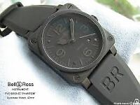 Bell and Ross BR03-92 2013 S,Steel P.V.D Phantom watch comes with all original paperwork and receipt