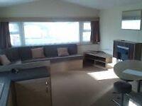 2 bed, 6 berth caravan holiday rentals only