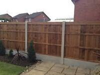 fence service/ decking/ general garden work