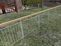 Custom made metal fences and railings to order