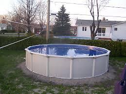 piscine  21 pied avec chaude eau