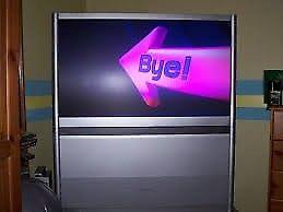 Toshiba projector tv