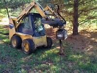 do you need post holes ? we are equipped and great deals