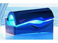 3 commercial ergoline sunbeds for sale.