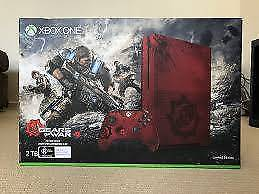 Microsoft Xbox One S 2TB - Gears of War 4 Limited Edition Console