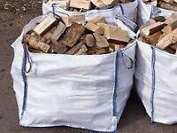 hardwood logs seasoned
