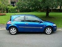 2007 RENAULT MEGANE EXTREME 1.4 CC 3 DOOR HATCHBACK, ALLOYS, NEW CAMBELT. LONG MOT.