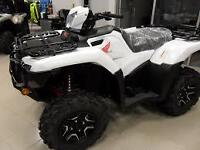 2015 honda rubicon 500 deluxe manual shift $1000 off