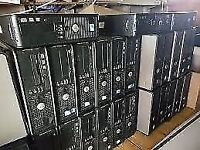 COMPUTER MASSIVE JOB LOT TO CLEAR 10 TOWERS + 10 TFT MONITORS (IDEAL FOR AN OFFICE)