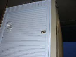 New White 7' x 7' Ocean Container Roll-up Doors