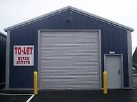 WANTED Large Double Garage Rent