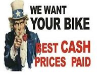 WANTED MOTORBIKES MOPEDS QUADS ATVS TRIKES ANY AGE / CONDITION CASH BUYER NO KEY NO LOG BOOK DVLA