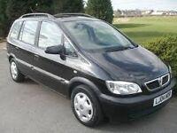Vauxhall zafira 2.0 dti in black *Breaking for parts *