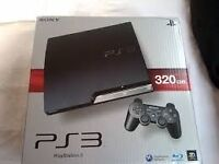 PS3 boxed 320g in cover £15 games plus move controls and games