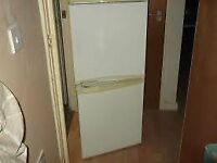 LEC Fridge./ Freezer in White, Very clean, Excellent working order, Silent compressor.£75.00.