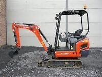 MINI DIGGER & DRIVER ALL AREAS call Andy 07568 441277