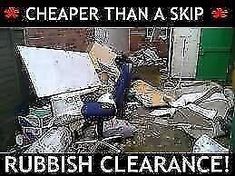 ♻️CHEAP♻️ RUBBISH REMOVAL- WASTE CLEARANCE SERVICES - HOUSE/SHOP/GARDEN/OFFICE/GARAGE man n van etc
