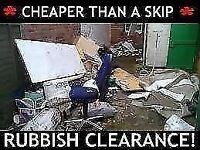 ♻️CHEAPER THAN SKIP HIRE♻️RUBBISH REMOVAL- WASTE CLEARANCE SERVICES - HOUSE/SHOP/GARDEN man n van