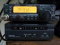 TS 50 kenwood hf transceiver plus auto atu with 60mtrs